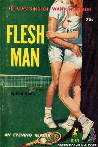 Evening Reader ER776 - Flesh Man by Don Elliott, cover art by Robert Bonfils (1965)