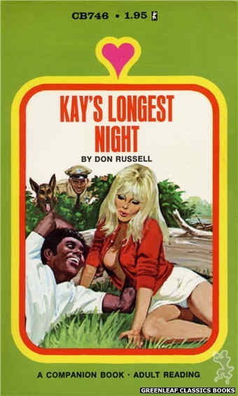 Companion Books CB746 - Kay's Longest Night by Don Russell, cover art by Unknown (1972)
