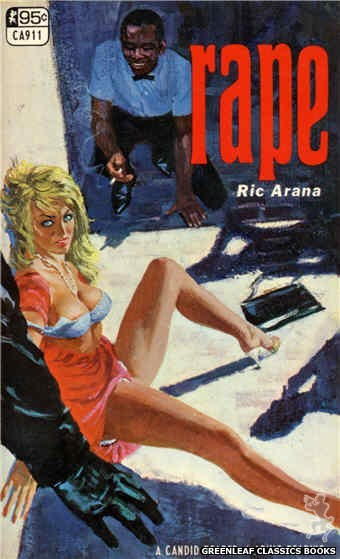 Candid Reader CA911 - Rape by Ric Arana, cover art by Robert Bonfils (1967)