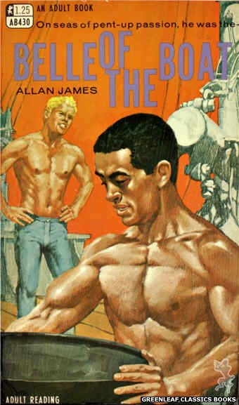 Adult Books AB430 - Belle Of The Boat by Allan James, cover art by Darrel Millsap (1968)