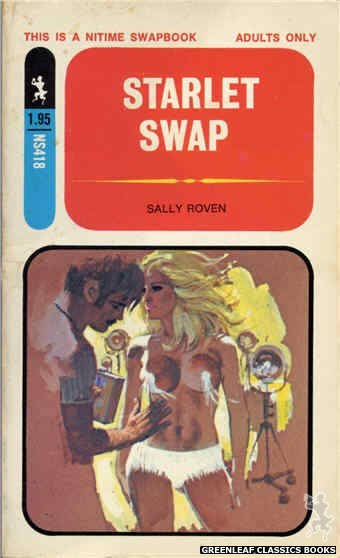 Nitime Swapbooks NS418 - Starlet Swap by Sally Roven, cover art by Robert Bonfils (1971)