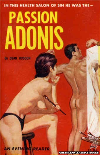 Evening Reader ER751 - Passion Adonis by Dean Hudson, cover art by Unknown (1964)