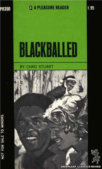 Pleasure Reader PR350 - Blackballed by Chad Stuart, cover art by Unknown (1972)