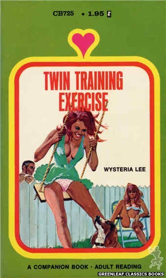 Companion Books CB725 - Twin Training Exercise by Wysteria Lee, cover art by Unknown (1971)