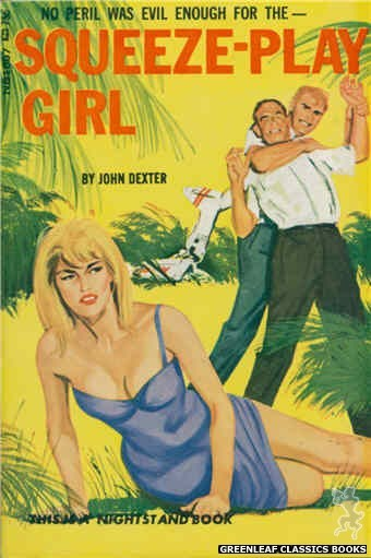 Nightstand Books NB1807 - Squeeze-Play Girl by John Dexter, cover art by Unknown (1966)
