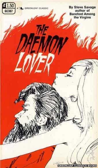Greenleaf Classics GC387 - The Daemon Lover by Steve Savage, cover art by Harry Bremner (1969)
