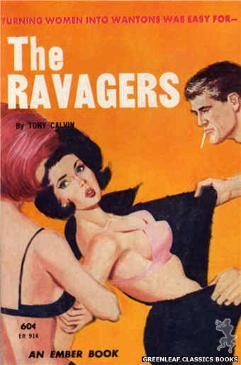 Ember Books EB914 - The Ravagers by Tony Calvin, cover art by Unknown (1963)