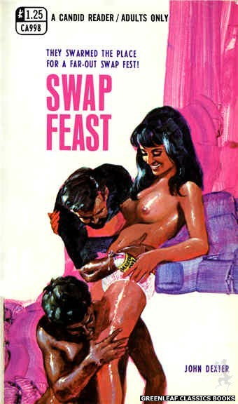 Candid Reader CA998 - Swap Feast by John Dexter, cover art by Unknown (1969)