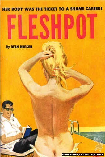 Idle Hour IH403 - Fleshpot by Dean Hudson, cover art by Robert Bonfils (1964)