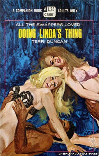 Companion Books CB661 - Doing Linda's Thing by Terri Duncan, cover art by Robert Bonfils (1970)
