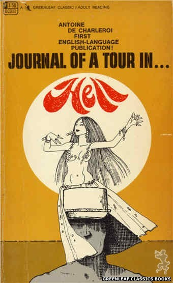 Greenleaf Classics GC312 - Journal of a Tour in Hell by Antoine de Charleroi, cover art by Unknown (1968)
