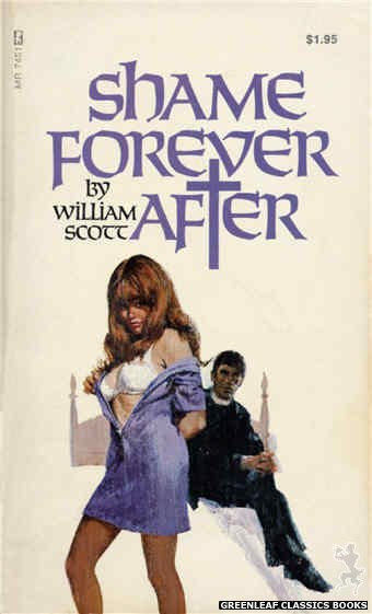 Midnight Reader 1974 MR7461 - Shame Forever After by William Scott, cover art by Ed Smith (1974)