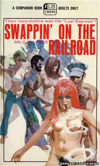 Companion Books CB649 - Swappin' On The Railroad by Milo Du Pree, cover art by Robert Bonfils (1970)