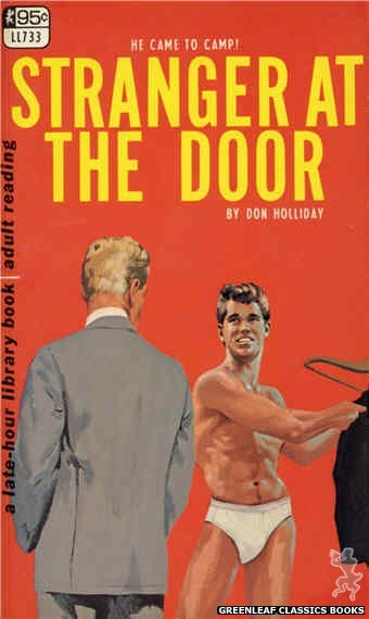 Late-Hour Library LL733 - Stranger At The Door by Don Holliday, cover art by Darrel Millsap (1967)