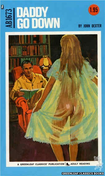 Adult Books AB1673 - Daddy Go Down by John Dexter, cover art by Unknown (1973)