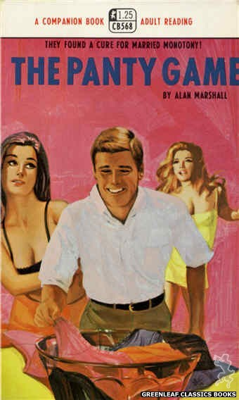 Companion Books CB568 - The Panty Game by Alan Marshall, cover art by Darrel Millsap (1968)
