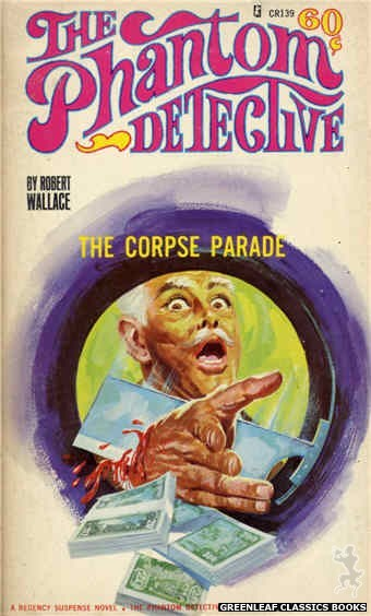 Corinth Regency CR139 - The Corpse Parade by Robert Wallace, cover art by Robert Bonfils (1966)