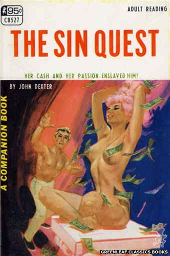 Companion Books CB527 - The Sin Quest by John Dexter, cover art by Darrel Millsap (1967)