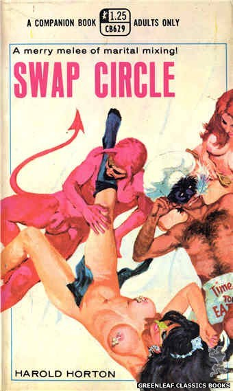 Companion Books CB629 - Swap Circle by Harold Horton, cover art by Robert Bonfils (1969)