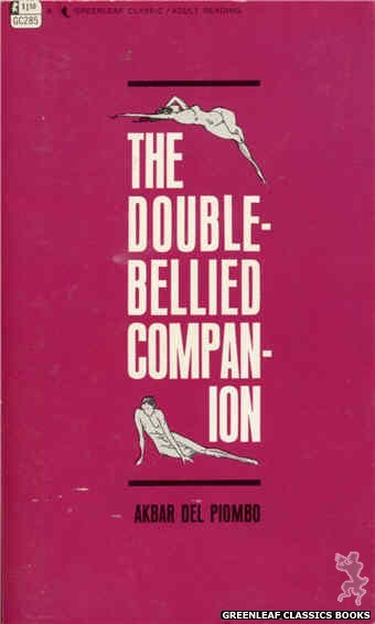 Greenleaf Classics GC285 - The Double-Bellied Companion by Akbar Del Piombo, cover art by Unknown (1968)