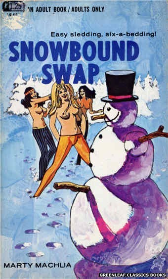 Adult Books AB485 - Snowbound Swap by Marty Machlia, cover art by Unknown (1969)