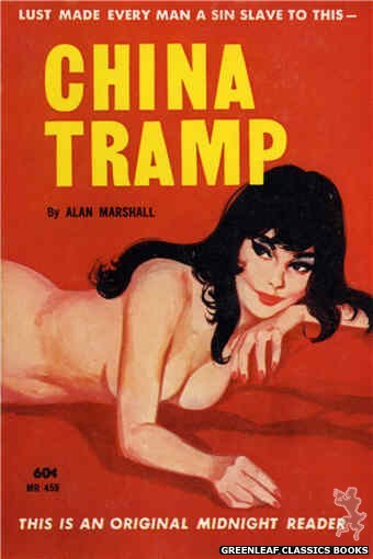 Midnight Reader 1961 MR459 - China Tramp by Alan Marshall, cover art by Unknown (1962)