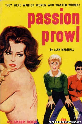 Ember Books EB942 - Passion Prowl by Alan Marshall, cover art by Unknown (1964)