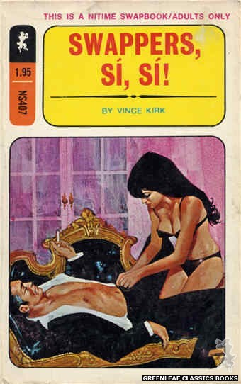 Nitime Swapbooks NS407 - Swappers, Si, Si! by Vince Kirk, cover art by Darrel Millsap (1970)