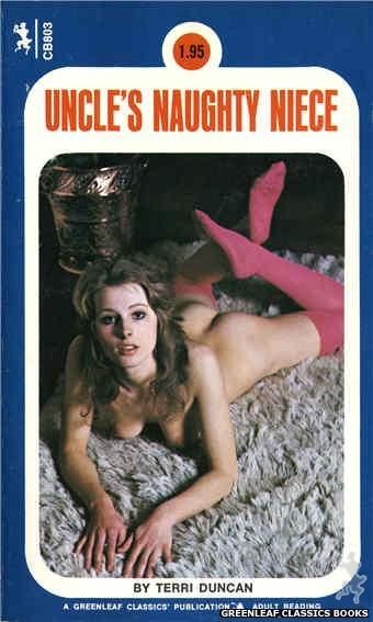 Companion Books CB803 - Uncle's Naughty Niece by Terri Duncan, cover art by Photo Cover (1973)