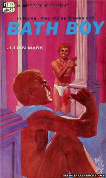 Adult Books AB450 - Bath Boy by Julian Mark, cover art by Darrel Millsap (1968)