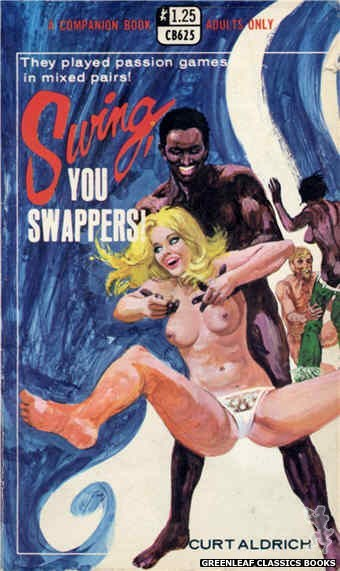 Companion Books CB625 - Swing, You Swappers! by Curt Aldrich, cover art by Robert Bonfils (1969)