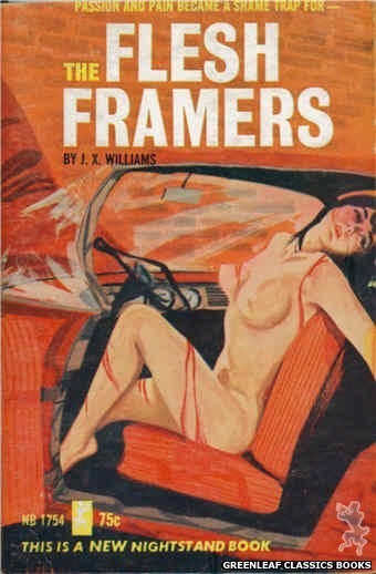 Nightstand Books NB1754 - The Flesh Framers by J.X. Williams, cover art by Unknown (1965)