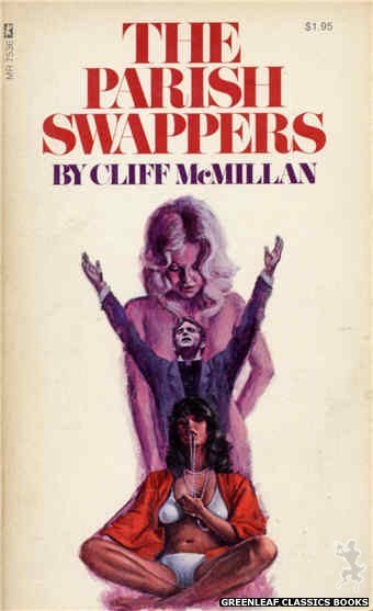 Midnight Reader 1974 MR7536 - The Parish Swappers by Cliff McMillan, cover art by Ed Smith (1974)