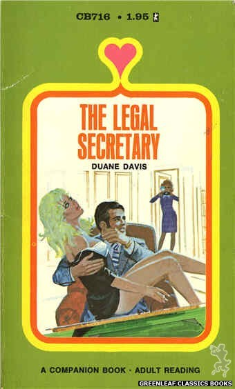 Companion Books CB716 - The Legal Secretary by Duane Davis, cover art by Unknown (1971)