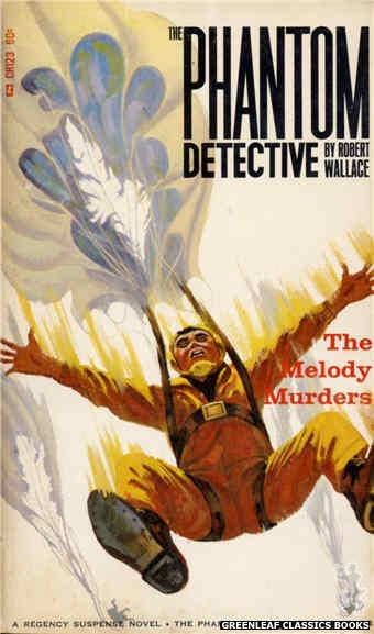 Corinth Regency CR123 - The Melody Murders by Robert Wallace, cover art by Robert Bonfils (1966)