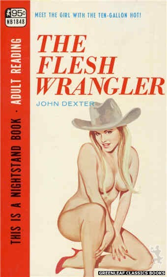 Nightstand Books NB1848 - The Flesh Wrangler by John Dexter, cover art by Unknown (1967)