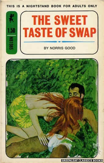 Nightstand Books NB1985 - The Sweet Taste of Swap by Norris Good, cover art by Unknown (1970)