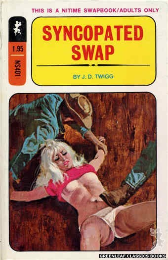 Nitime Swapbooks NS401 - Syncopated Swap by J.D. Twigg, cover art by Unknown (1970)