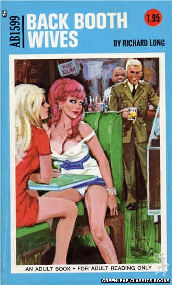 Adult Books AB1599 - Back Booth Wives by Richard Long, cover art by Unknown (1971)