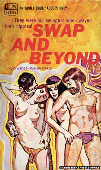 Adult Books AB1502 - Swap And Beyond by Gavin Hayward, cover art by Unknown (1969)