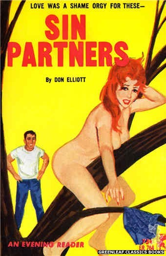 Evening Reader ER764 - Sin Partners by Don Elliott, cover art by Unknown (1964)