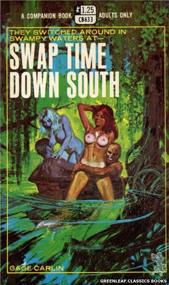 Companion Books CB633 - Swap Time Down South by Gage Carlin, cover art by Robert Bonfils (1969)
