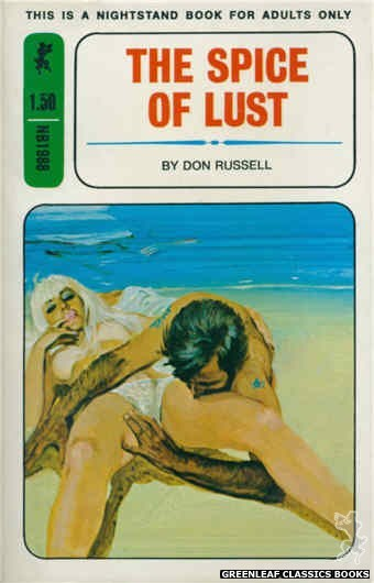 Nightstand Books NB1988 - The Spice of Lust by Don Russell, cover art by Unknown (1970)