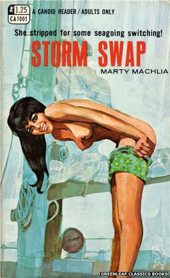 Candid Reader CA1001 - Storm Swap by Marty Machlia, cover art by Unknown (1969)
