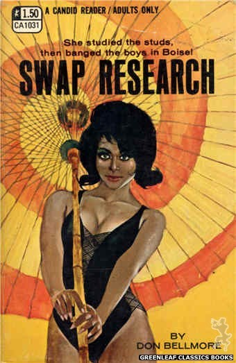 Candid Reader CA1031 - Swap Research by Don Bellmore, cover art by Darrel Millsap (1970)