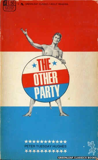 Greenleaf Classics GC352 - The Other Party by Peter Tuesday Hughes, cover art by Unknown (1968)