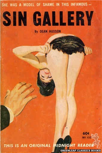 Midnight Reader 1961 MR430 - Sin Gallery by Dean Hudson, cover art by Unknown (1962)