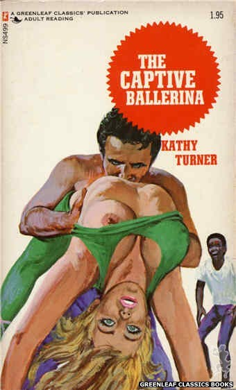 Nitime Swapbooks NS499 - The Captive Ballerina by Kathy Turner, cover art by Unknown (1972)