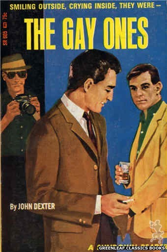 Sundown Reader SR605 - The Gay Ones by John Dexter, cover art by Darrel Millsap (1966)