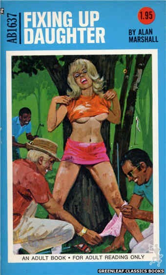 Adult Books AB1637 - Fixing Up Daughter by Alan Marshall, cover art by Unknown (1972)